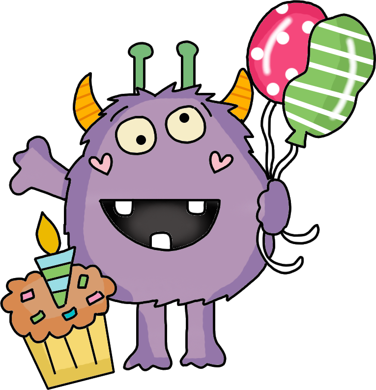 Birthday Monster FREEBIE!