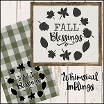 Fall Blessings SVG