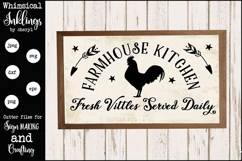Farmhouse Kitchen Svg