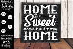 Home Sweet Chaotic Home SVG
