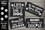 Life Is Better With A Dog SVG Set