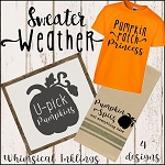 Pumpkin Spice SVG Set