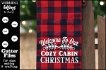 Cozy Cabin Christmas SVG