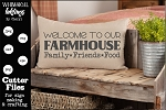 Family Friends Food-Farmhouse SVG