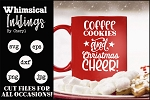 Coffee Cookies Christmas SVG