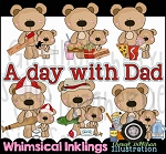A Day With Dad Clipart Collection