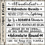 Adventure Sign SVG Bundle