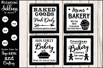 All About Baking SVG Set
