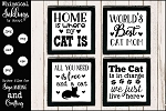All About Cats SVG set