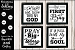 All About Prayer SVG Set
