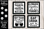 All About Thanksgiving SVG Set