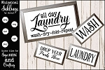 All Day Laundry SVG Set
