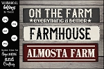 Almosta Farm SVG Set