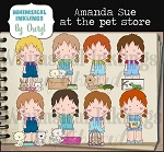 Amanda Sue At The Pet Store RESELLERS LIMITED SET