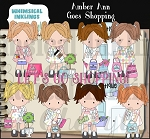 Amber Ann  Goes Shopping RESELLERS LIMITED SET