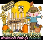 Autumn Wishes Clipart Collection