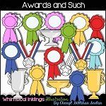 Awards and Such Clipart Collection