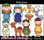 Baby Jesus Clipart Collection