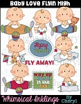Baby Love Flyin High Clipart Collection