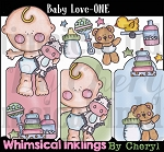 Baby Love One Clipart Collection