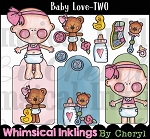Baby Love TWO Clipart Collection