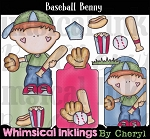 Baseball Benny Clipart Collection