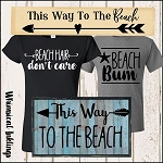 Beach Bum SVG Mini Bundle