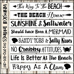 Beach Sign SVG Bundle