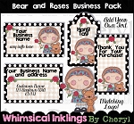Bear and Roses Business Pack