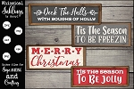 Be Jolly SVG Set