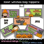 Best Witches Bag Toppers