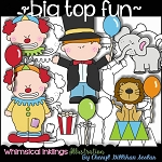 Big Top Fun Clipart Collection