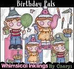 Birthday Pals Clipart Collection