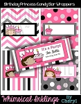 Birthday Princess Candy Bar Wrappers
