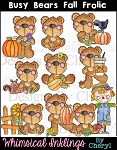 Busy Bears Fall Frolic RESELLERS LIMITED SET