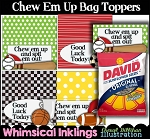 Chew Em Up Bag Toppers