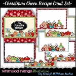 Christmas Cheer  Recipe Cards