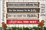 Christmas Cheer Welcome Here SVG Set
