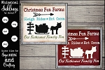 Christmas Fun Farms SVG