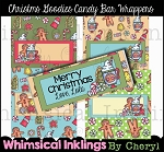 Christmas Goodies Candy Bar Wrappers