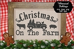Christmas On The Farm SVG