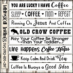 Coffee and Tea Sign SVG Bundle