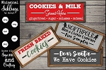 Cookies and Milk SVG set