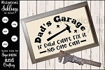 Dads Garage SVG