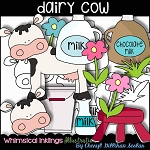 Dairy Cow Clipart Collection