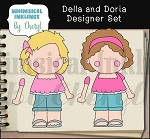 Della and Doria Designer Set EXCLUSIVE
