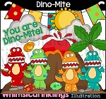 DinoMite Clipart Collection