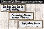 Dirty Clothes~ Laundry SVG Files