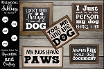 Dog Therapy SVG Set
