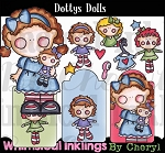 Dottys Dolls  Clipart Collection